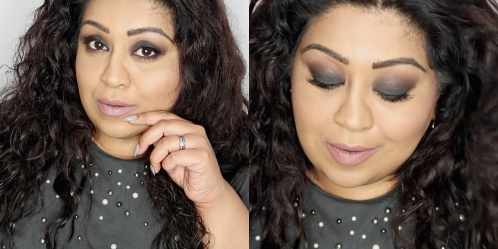 HOW TO DO A SIMPLE SMOKEY EYE FOR BEGINNERS, 5 minute smokey eye, www.nishiv.com