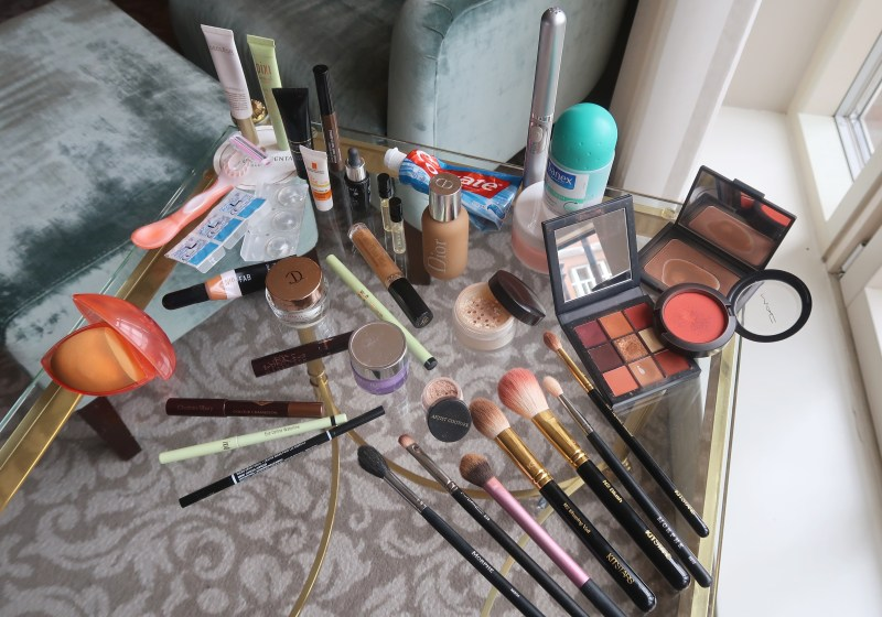 How To Pack Your Toiletries & Makeup In A Small Liquids Bag For Carry-On Luggage