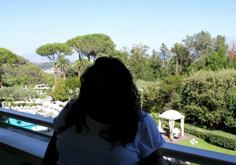 Checking into the Rome Cavalieri Waldorf Astoria Resort