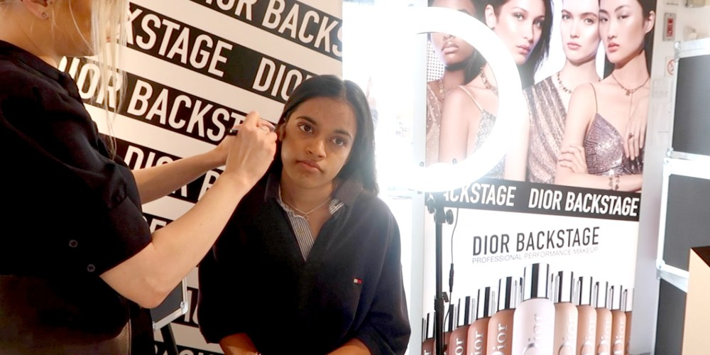 My 16 Year Old Cousin's First Makeup Shopping Trip, nishi v vlog, www.nishiv.com