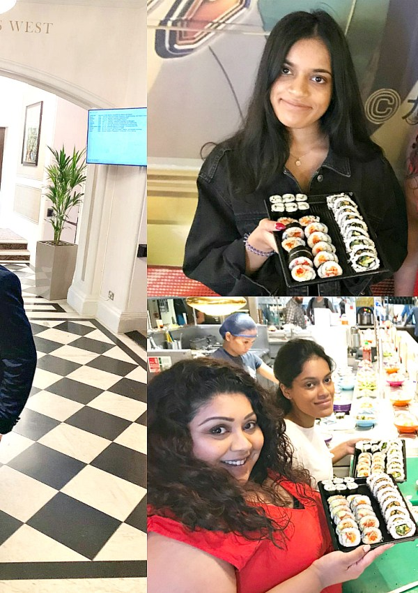 Family Wedding & Yo Sushi Masterclass Vlog