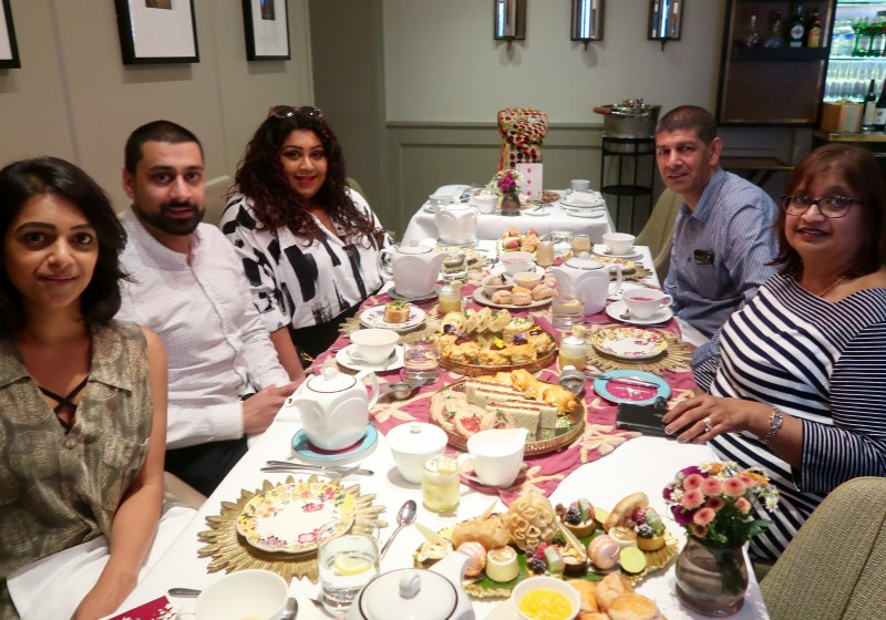 Jasmine Indian Afternoon Tea at Taj 51 Buckingham Gate, Nishi V, www.nishiv.com