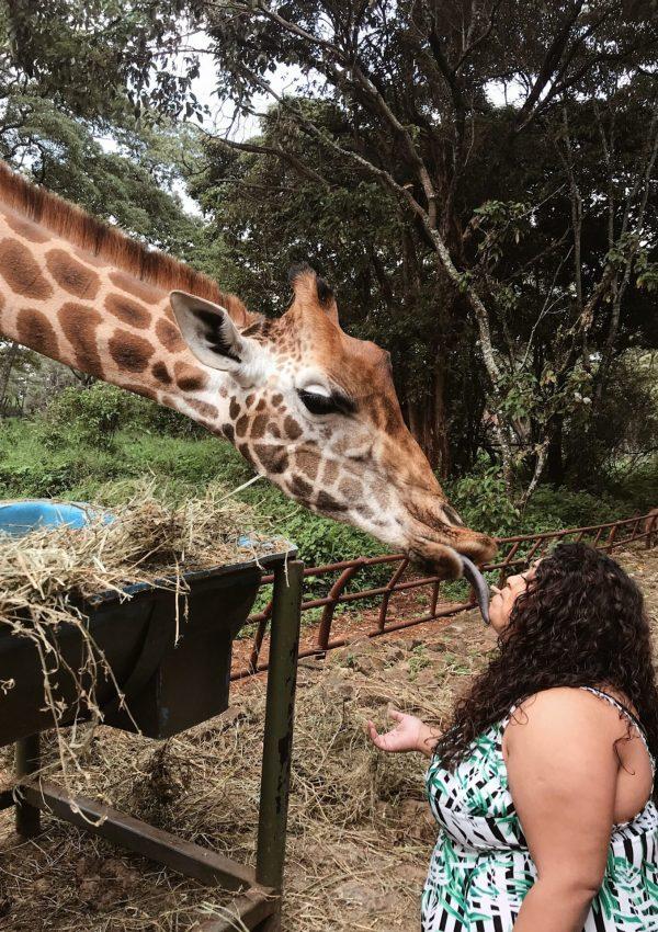 Giraffe Centre, Kenya, Nishi V, nishiv.com