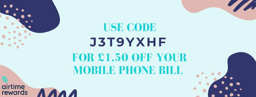 airtime rewards promo code, save money on your phone bill, nishi v