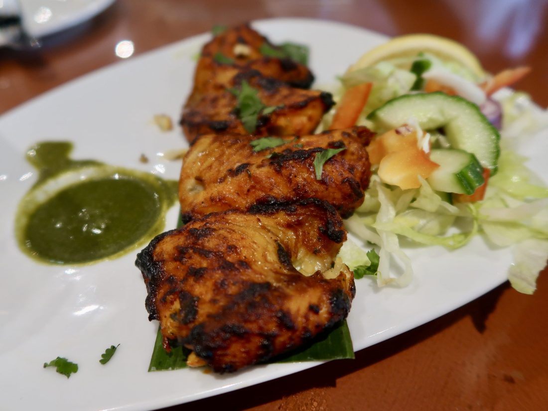Fish Tikka At Ponsbourne Pods