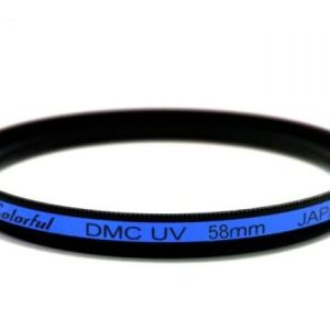 Nisi 58mm Colorful DMC UV niebieski