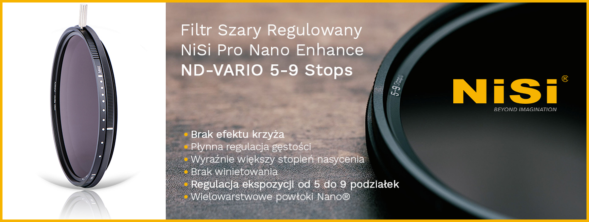 NOWY Filtr NiSi ND-VARIO 5-9 Stops