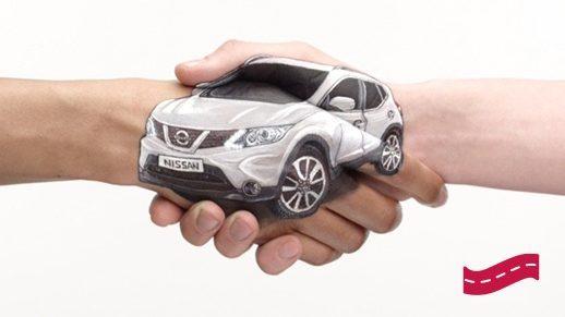 Nissan - Promesse Client - Véhicule de courtoisie gratuit