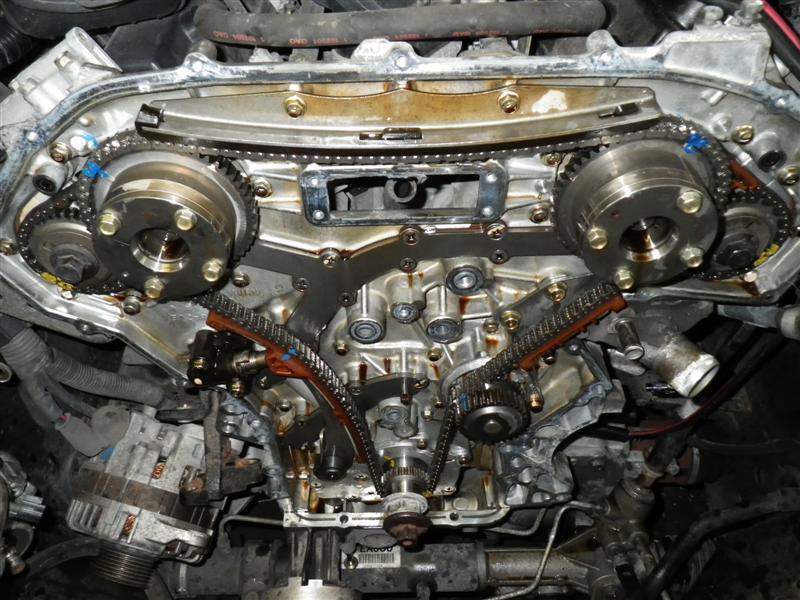 08 Nissan Altima 4 Cyl Timing Belt