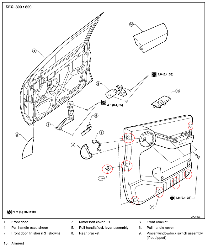 [Diagrams To Remove 2008 Nissan Titan Driver Door Panel