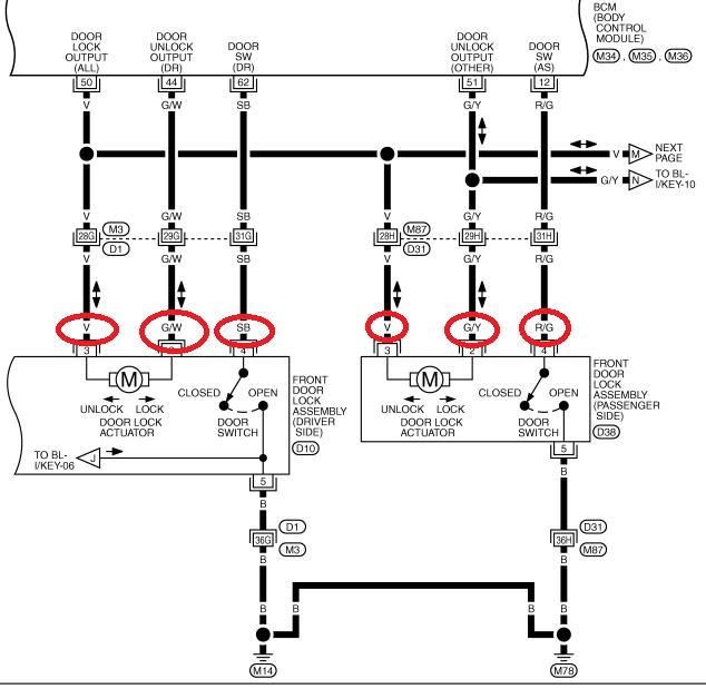 [DIAGRAM] Door Lock Actuators Corvetteforum Wiring Diagram