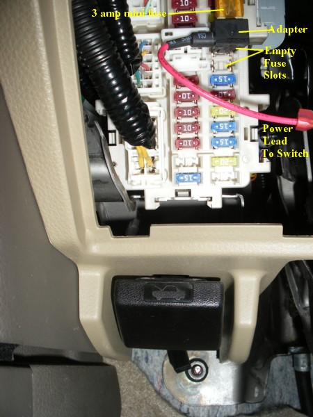 Second Starter Relay Wiring Diagram Non Factory Footwell Lighting On 2nd Gen Murano