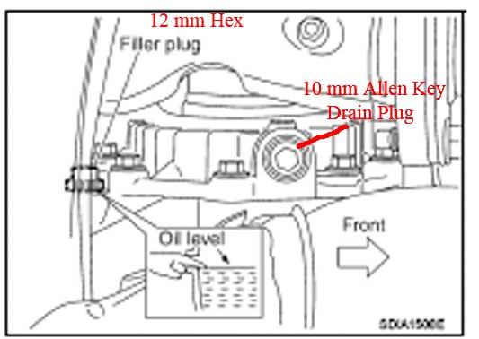 2006 Nissan Pathfinder Transmission Fluid