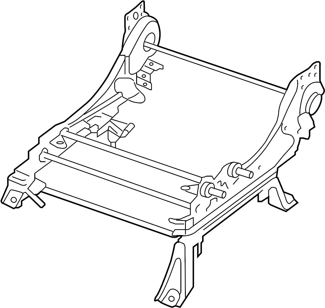 Nissan Xterra Seat Track Adjust Mechanism (Left, Front