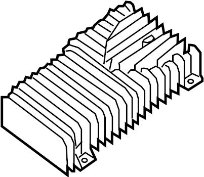 Nissan Pathfinder Radio Amplifier. BOSE, SPEAKER, PACKAGE