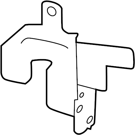 Nissan Rogue Fuse And Relay Center Bracket. ENGINE, ROOM