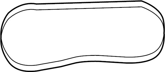 Nissan 350Z Accessory Drive Belt. COMPRESSOR, STEERING