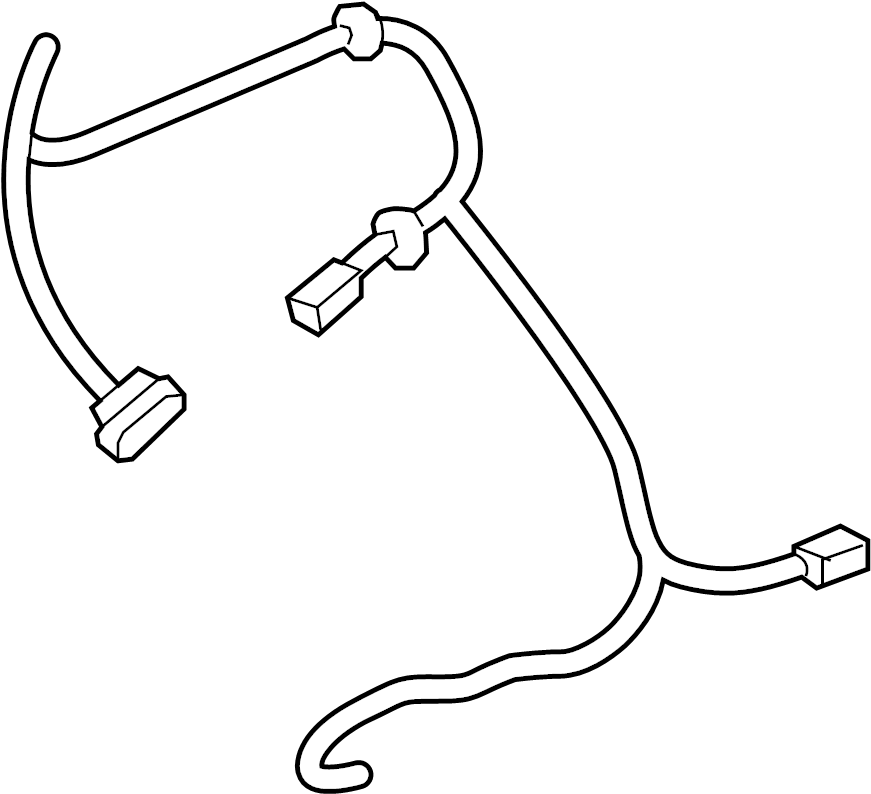 Nissan Pathfinder Air Bag Wiring Harness. SEAT, PASSENGER