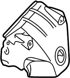 Nissan Altima Exhaust Manifold Heat Shield. INTAKE, Engine