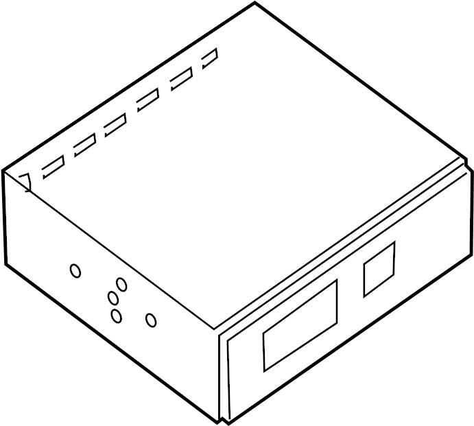 Nissan Pathfinder Gps Navigation Control Module. Other