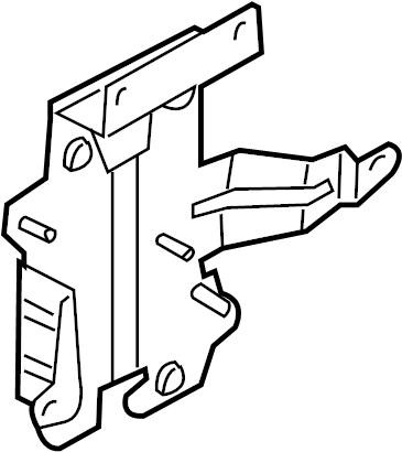Nissan Pathfinder Cruise Control Module Bracket. AUDIO
