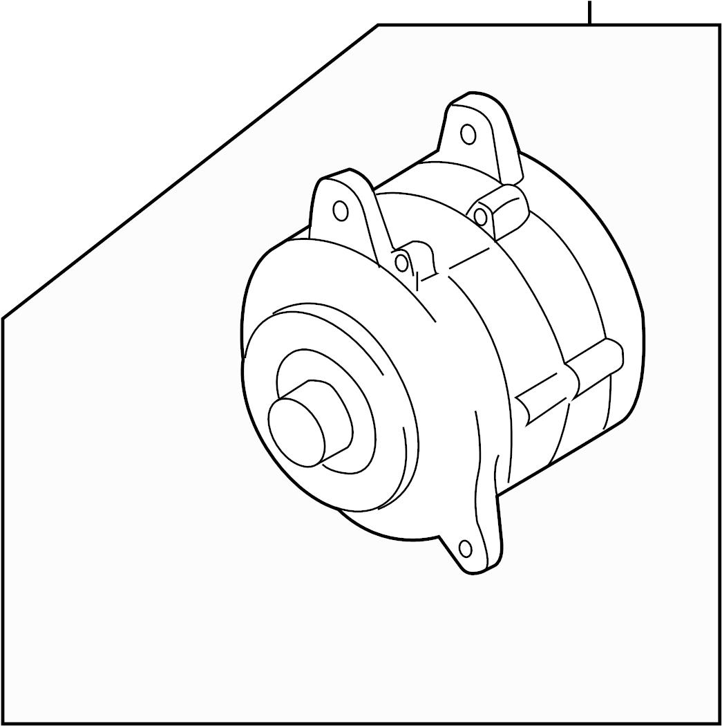 Nissan Sentra Voltage Regulator Mitsubishi Alternator