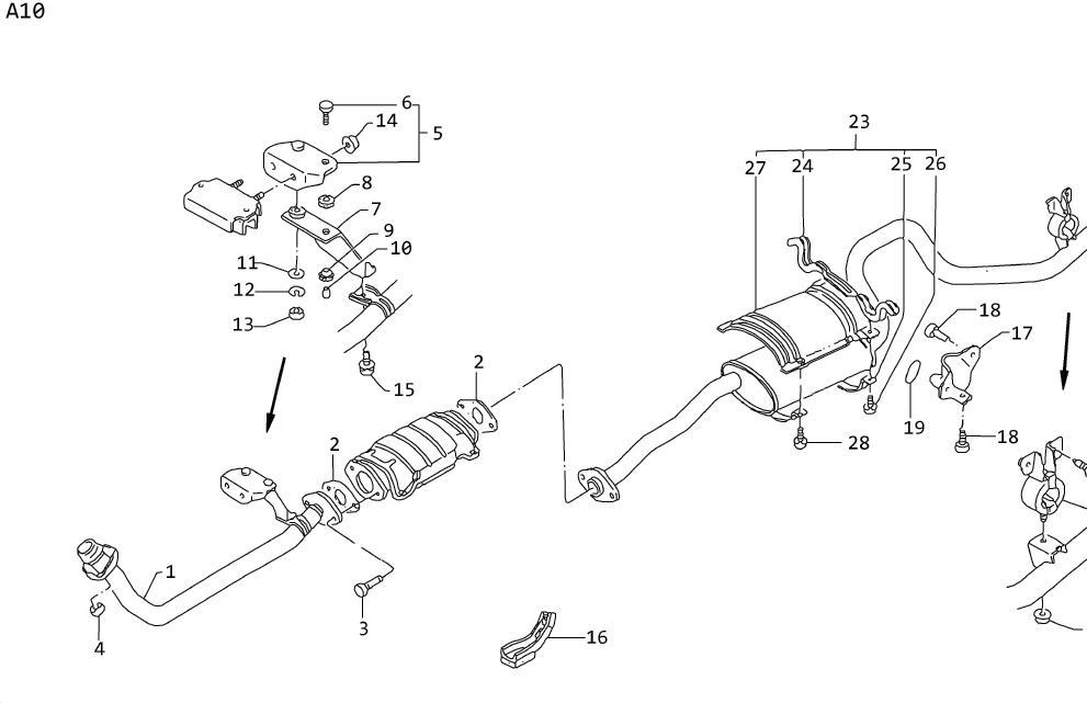 [DIAGRAM] Nissan Frontier Exhaust System Diagram FULL