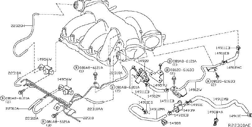 2004 Nissan Maxima Engine Diagram / 2001 Infiniti I30