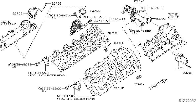Nissan Titan Engine Camshaft Follower. VALVE, MECHANISM