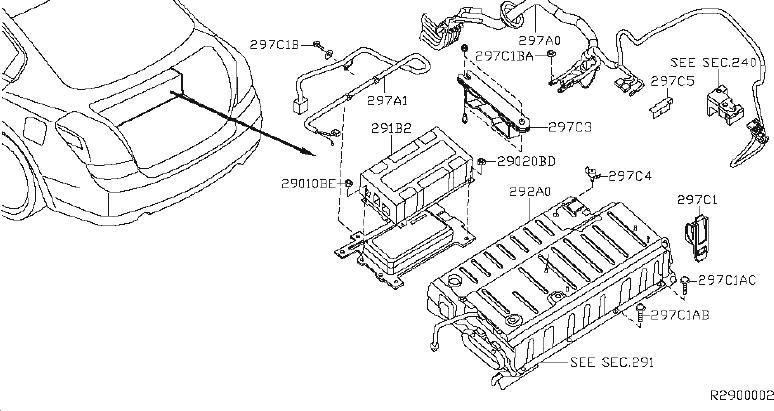 Nissan Altima Fuse Box Bracket. COMPARTMENT, SYSTEM