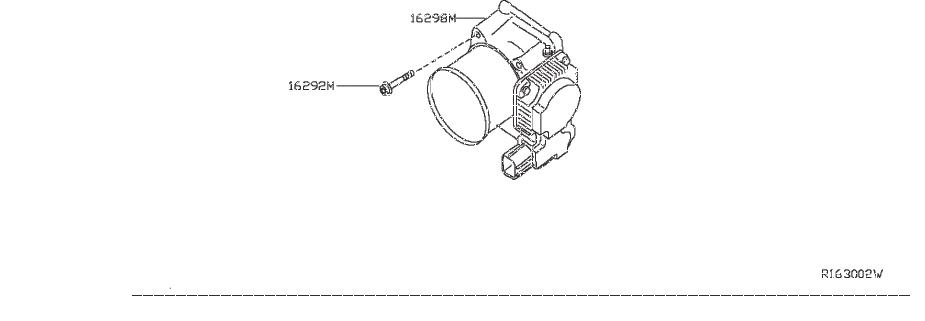 Nissan Pathfinder Fuel Injection Throttle Body. CHAMBER