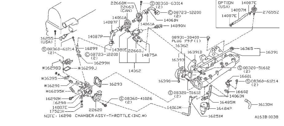Datsun 280Z Gasket Valve Cold Start. Valve, Cold Starter