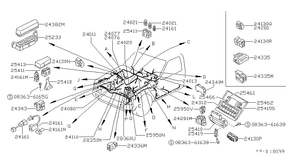 [DIAGRAM] Wiring Diagram For Nissan 2005 Hardbody Wiring