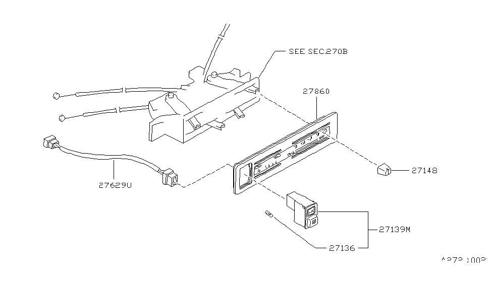 1994 Nissan Hardbody Pickup (D21) Control Unit