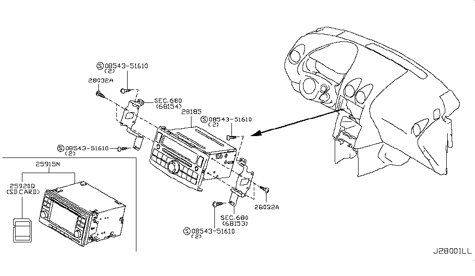[DIAGRAM] Nissan Parts Diagram Model 28185 8z500 FULL