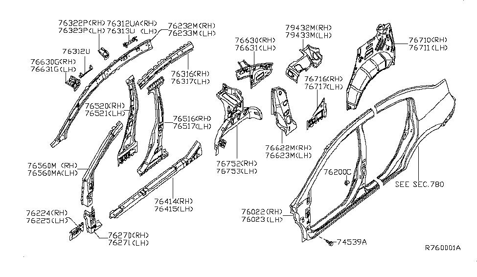 Nissan Sentra Body Parts Diagram / Nissan Sentra Body