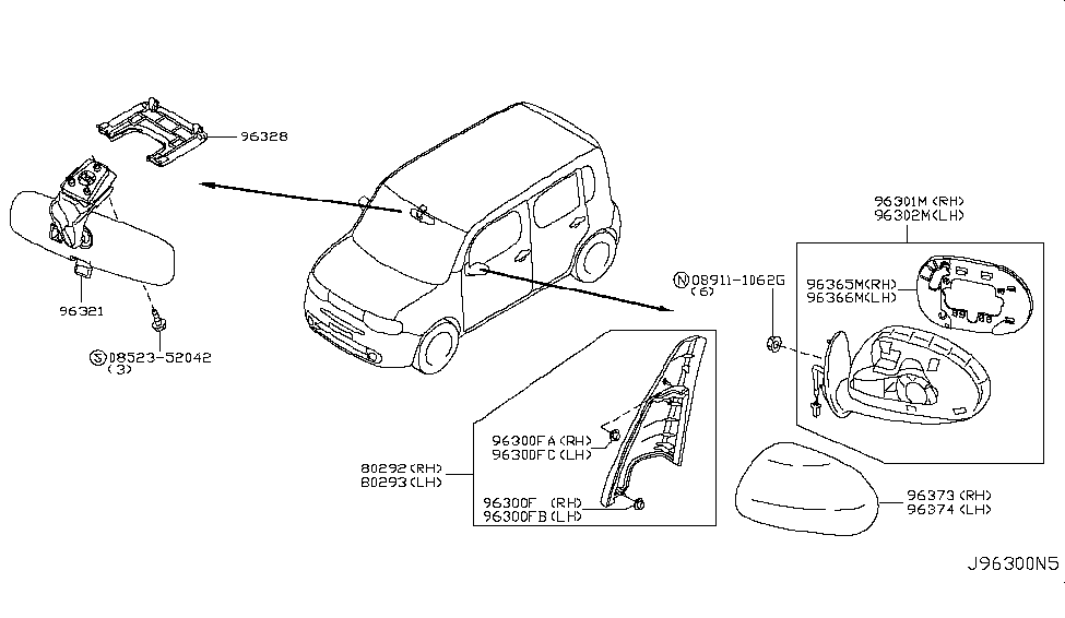 [DIAGRAM] 2010 Nissan Cube Parts Diagram FULL Version HD