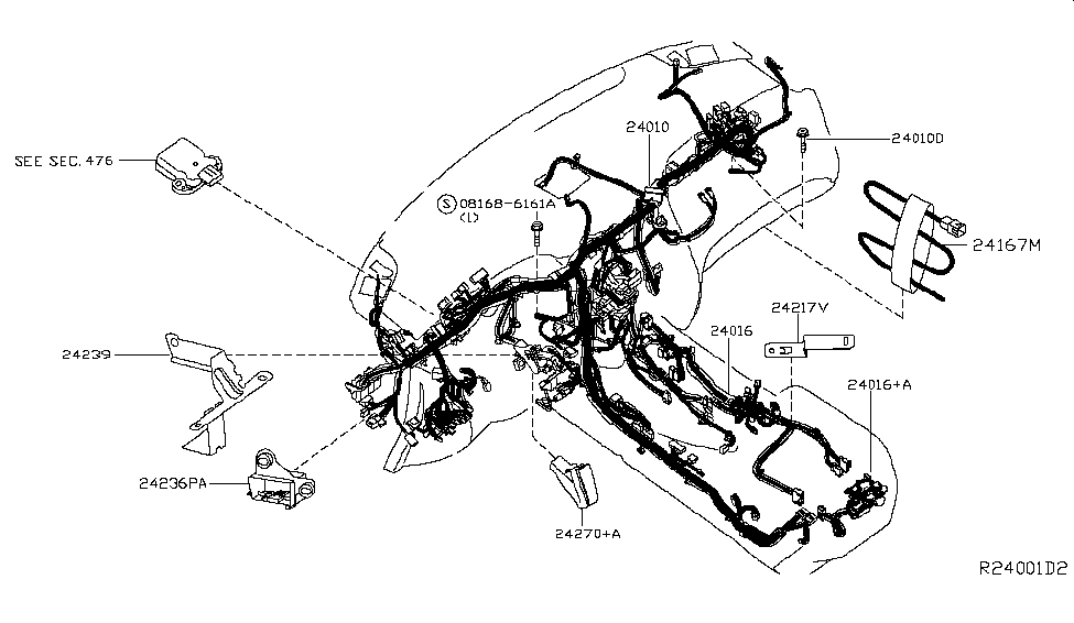 [DIAGRAM] 1993 Nissan Pathfinder Headlights Wiring Harness