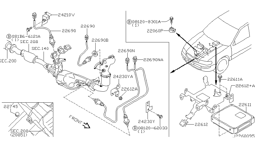 [DIAGRAM] Nissan Pathfinder Engine Knock Sensor Diagram