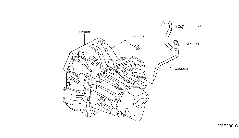 2015 Nissan Versa Note Manual Transmission, Transaxle