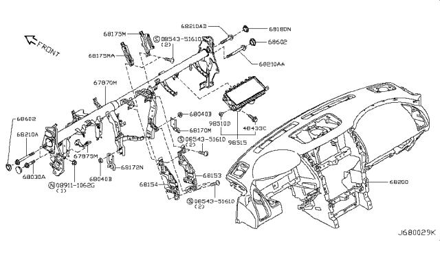 2018 Nissan Armada Fuse Box Diagram / Titan Fuse Box
