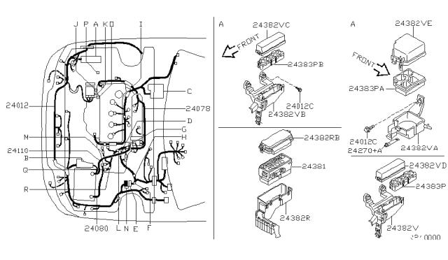 2002 Nissan Sentra Gxe Fuse Box Diagram : Nissan Sentra