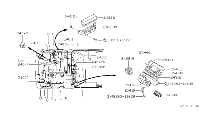 Ka24E Engine Harness Diagram : Tech Wiki Basic Alternator