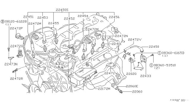 1987 Nissan 300Zx Wiring Diagram / 1987 Nissan Pickup
