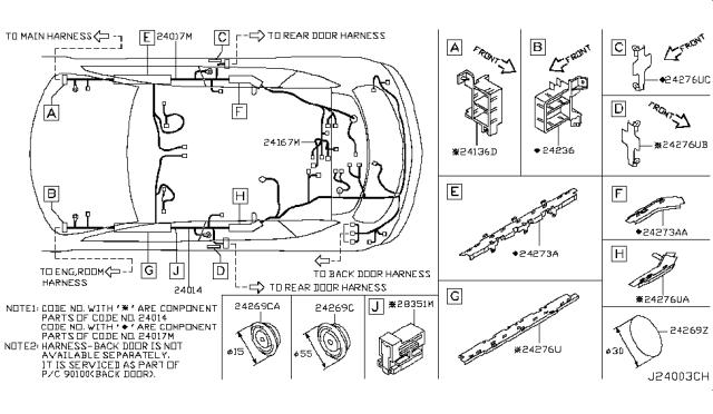2003 nissan murano wiring harness  wiring diagram power