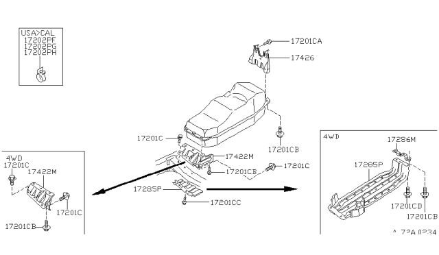 1997 Nissan Pickup Relay Diagram : Fuse Box Headlight