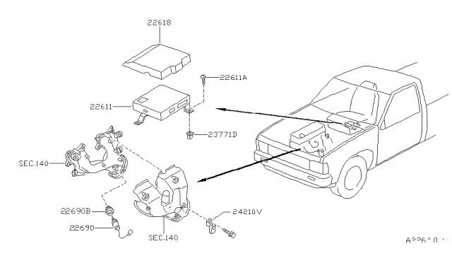 1995 Nissan Pickup Relay Diagram / Starter Relay Location