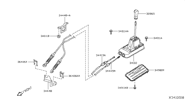 Parts & Accessories Genuine Nissan Manual Transmission