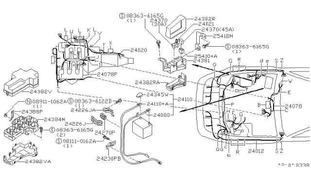 1990 Nissan 300Zx Wiring Harness Diagram / Nissan 300zx