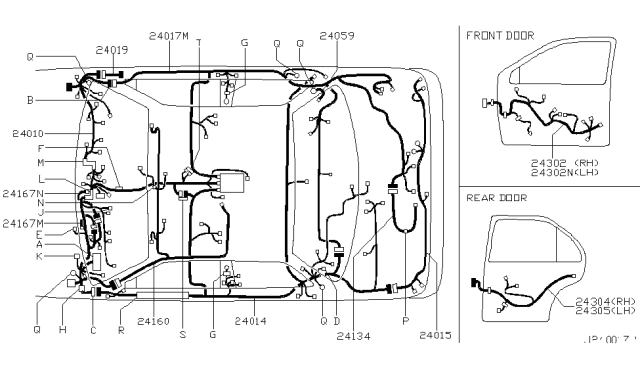 2003 Nissan Maxima Wiring Diagram : 3 5 Engine Wiring